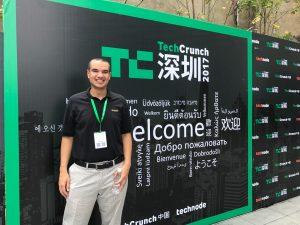 Leon Hudson TechCrunch Shenzhen